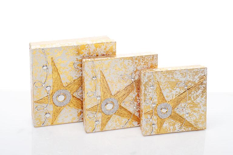 Geschenkbox gold