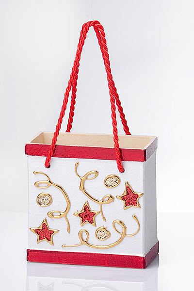 Geschenkbox-rot