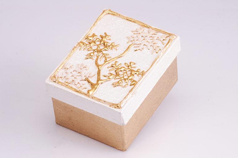 Geschenksbox gold