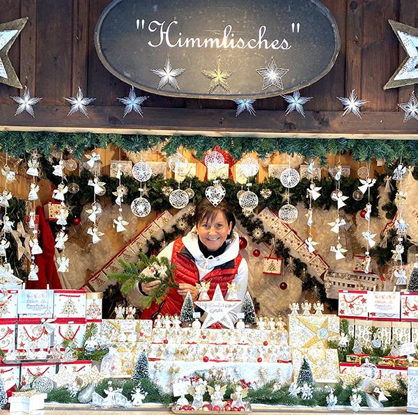 Dekoprofi am Weihnachtsmarkt St. Wolfgang